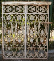 French Wrought Iron Altar Doors