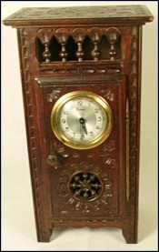 Grandfather Clock for Doll Quimper