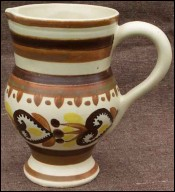 Celtic Decor Pitcher HB Quimper