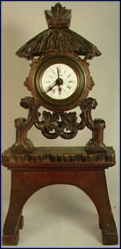 Black Forest Mantel Alarm Clock