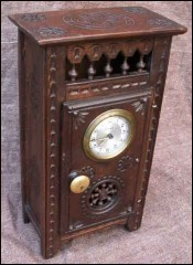 French GrandFather Clock For Doll Quimper 1900