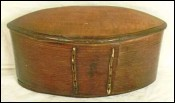 Vintage Chinese Food Box Bamboo 19th Century