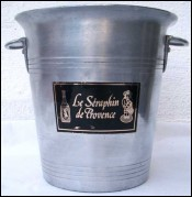 French Provencal Wine Ice Bucket Seraphin