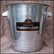 French Pommery Greno Champagne Ice Bucket Cooler Art Deco