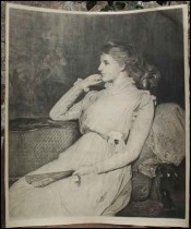 Ellen Moxon Lady Orchardson Epouse Sir William Quiller Orchardson Leon Gaucherel
