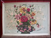 Bunch Flowers Advertising Print Canvas Gavin Morton 1900 Arts & Crafts