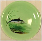 Mackerel Fish Plate Proceram French