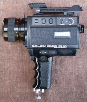 Camera Bolex 5120 Super8 Sound Macro Zoom 1976
