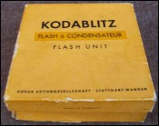Kodablitz electronique flash Unit Kodak Retina reflex