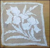 art deco lace