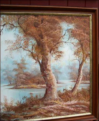 Autumnal Landscape I Cafieri Oil Painting Canvas