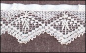 French Lace Pelmet for Window Shelf Curtain 1900