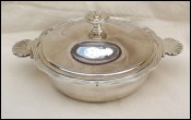 Christofle Silverplate Vegetable Casserole Tureen Paris 1930