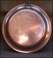 French Eggs Fry Pan Tin lined Copper 1910