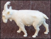 Goat Carved Figure Mammoth Ivory Germany
