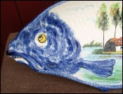 Boutin Decorative Fish Shaped Dish Brittany