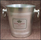 Champagne Ice Bucket Cooler Blanc Foussy Wine 1960