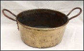 Brass Candy Perserving Confiture Jam Pan 1900