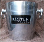 Kriter Champagne Ice Bucket Cooler Rings