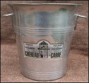 Muscadet White Wine Ice Bucket Cooler Chereau Carre
