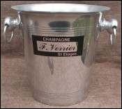 Champagne Ice Bucket Cooler F Verrier Etoges