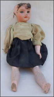SFBJ Composition Incassable Doll 3/0 10