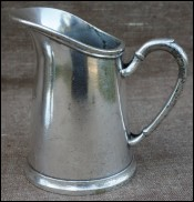 Milk Pot Silverplate A La Veilleuse Bar Coffee Shop