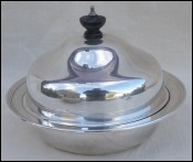 Silver Plated Muffin Dish William Suckling Birmingham 1930