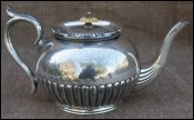 English Silver Plated Tea Pot Richard Richardson Sheffield 1895