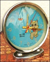 Alarm Clock Kitty 1970