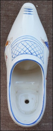Hand Painted Clog Bretons Armor Quimper Faience