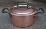 Chef Cookware Tinned Copper Stew Pot Rondeau