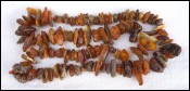Natural Butterscotch Baltic Amber Nuggets Beads Necklace 80 gr