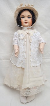24 Compo Walking Doll Sleep Eyes SFBJ Size 12 Model 7124