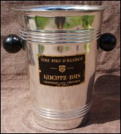 KUENTZ-BAS Nickel Silver Rhine Wine Bucket