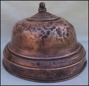 Tin Lined Copper Domed Food Warming 1930