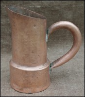 Macedonian Jug Pitcher Copper Middle East Early 20th C