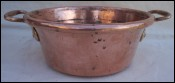 Small Preserving Jam Copper Candy Pan Bronze Handle  9