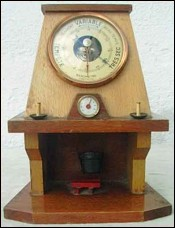 Country Fire Place for Doll Barometer