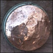 Skillet Frying Pan Tined Copper 1880