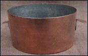Copper Tin Lined Timbale Souffle Cake Mold 1880