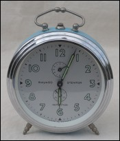 BAYARD STENTOR Repetition Alarm Clock Phosphorescent
