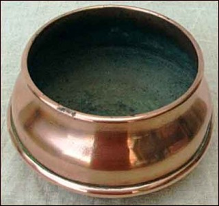 copper spittoon
