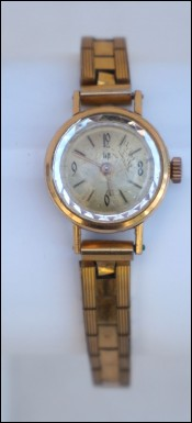 Vintage Original LIP Women Wristwatch Gold Plated Dauphine
