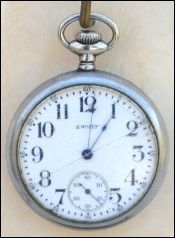 WALTHAN Equity Pocket Watch 15 Jewels Watch Cie Boston