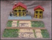 JEP Railways Train Stations Platforms Annex O Gauge 1940