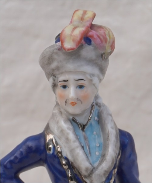 Joachim 1st Prince Murat French Empire Marshal King of Naples Capodimonte Porcelain Figure
