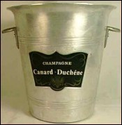 French Champagne Ice Bucket Canard-Duchene