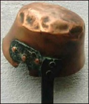 Country Copper Ladle