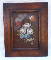 Bouquet of Flowers Oil painting Copper Tilly